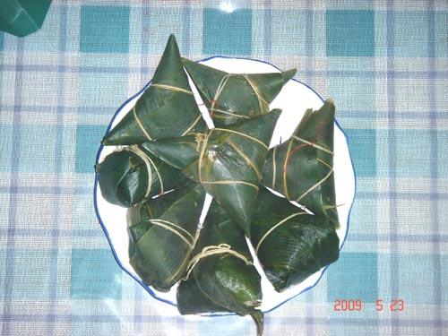 动物形状的粽子